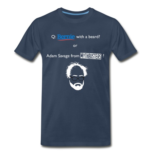 Sanders or Savage? Front/Back T-shirt - Men's Premium T-Shirt