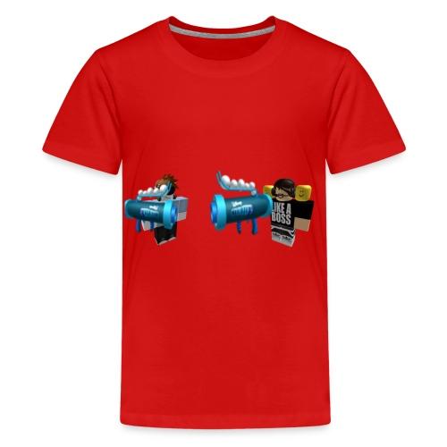 FIRENORMAN1 AND YOLOGAMEING12 ROBLOX - Kids' Premium T-Shirt