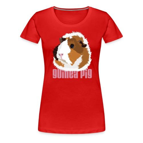 Guinea PIG - Women's Premium T-Shirt