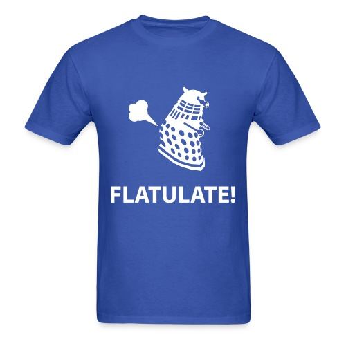 Dalek - Flatulate! - Men's T-Shirt