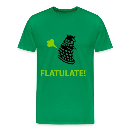 Dalek - Flatulate! - Men's Premium T-Shirt