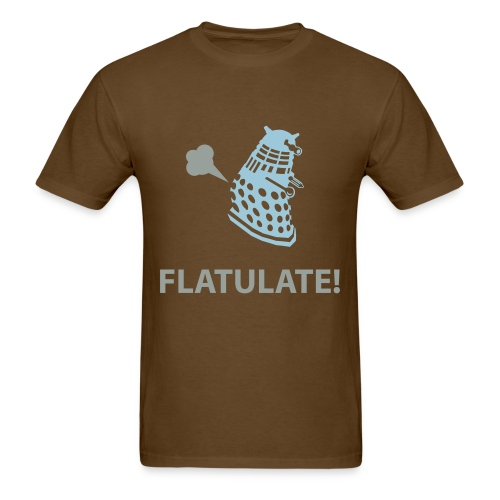 Dalek - Flatulate! - Men's T-Shirt