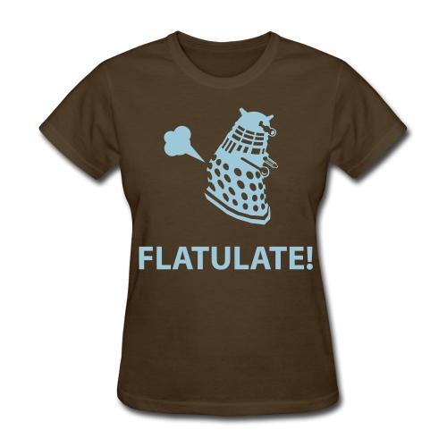 Dalek - Flatulate! (Womens) - Women's T-Shirt