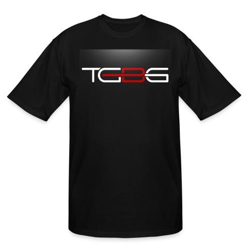 TGBG Men's Tall Black Rebrand Tshirt - Men's Tall T-Shirt
