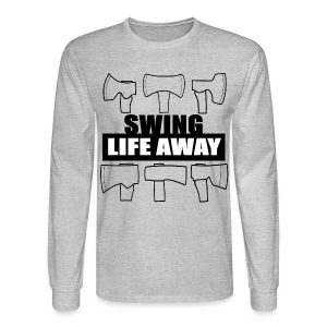 Swing Life Away Long Sleeve  - Men's Long Sleeve T-Shirt