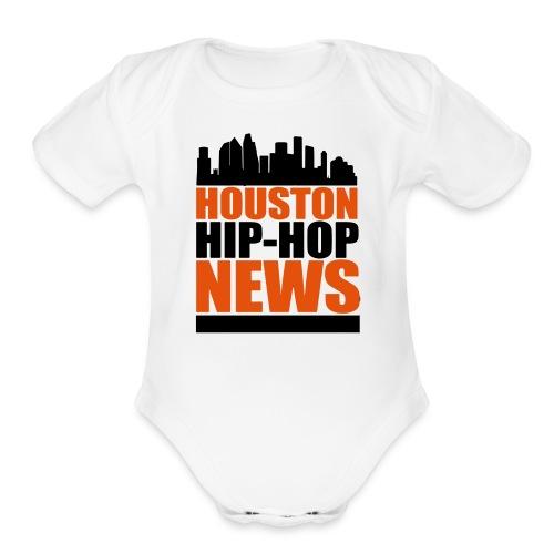 HHHN baby wear - Organic Short Sleeve Baby Bodysuit