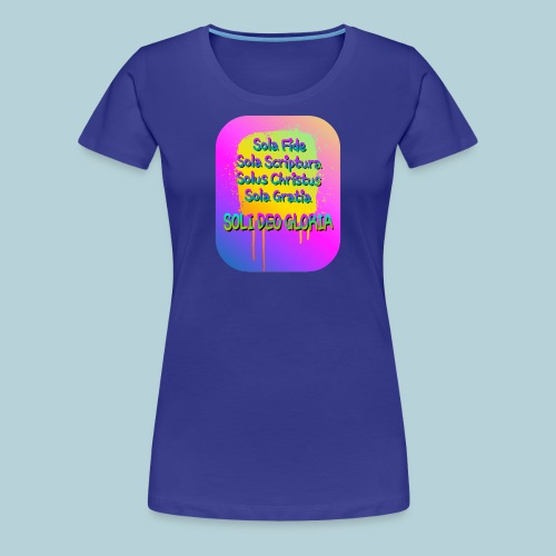 The Five Solas - Women's Premium T-Shirt