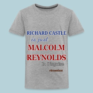 Castle is Reynolds - Kids' Premium T-Shirt