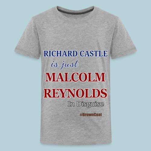 Castle is Reynolds - Kids' Premium T-Shirt