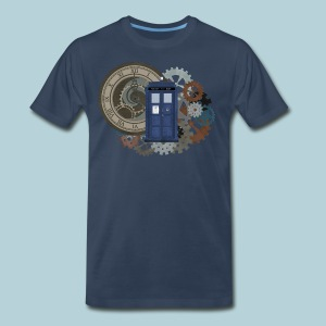 Traveling through Time - Men's Premium T-Shirt