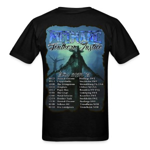 Methane Southern Justice Tour  - Men's T-Shirt