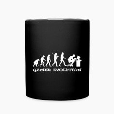 Gamer Evolution Mugs & Drinkware