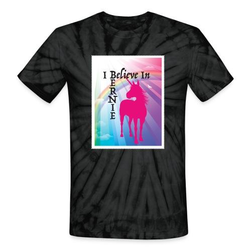 I BELIEVE IN BERNIE Tie Die - Unisex Tie Dye T-Shirt