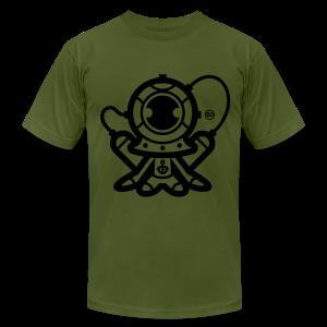 BD Stifles Diver Tshirt US - Men's Fine Jersey T-Shirt