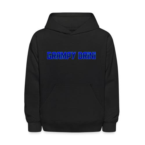 grampy drini - Kids' Hoodie