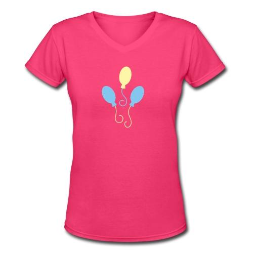 Pinkie Pie Shirt - Women's V-Neck T-Shirt