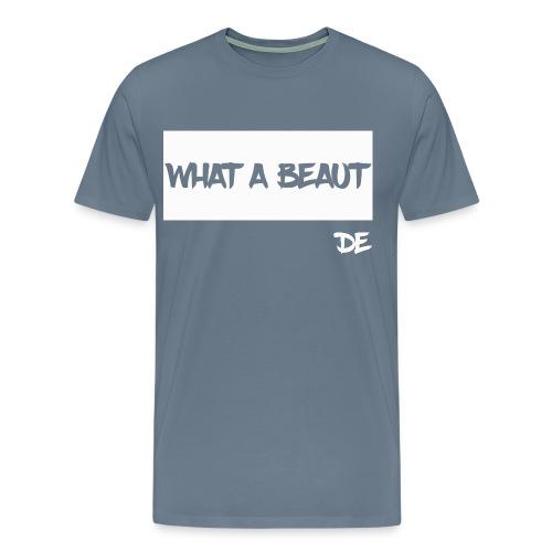 What a Beaut White Mens - Men's Premium T-Shirt