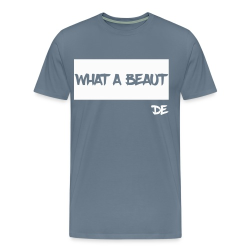 What a Beaut White Mens - Men's Premium T-Shirt