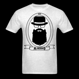 Manhood OG/front black logo  - Men's T-Shirt