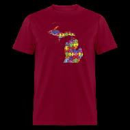 T-Shirts ~ Men's T-Shirt ~ Michigan Autism Awareness