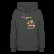Hoodies ~ Women's Hoodie ~ Michigan Autism Awareness