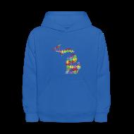 Sweatshirts ~ Kids' Hoodie ~ Michigan Autism Awareness