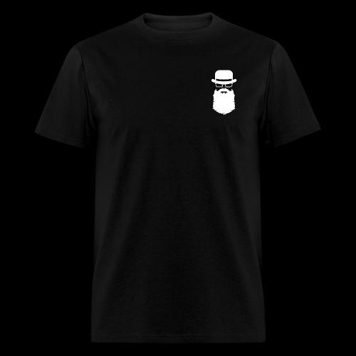 Manhood OG/back white logo  - Men's T-Shirt