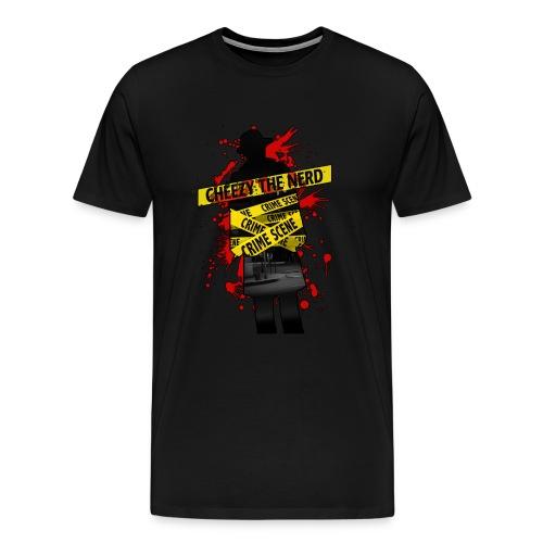 Official CheezyTheNerd T-Shirt (Male) - Men's Premium T-Shirt