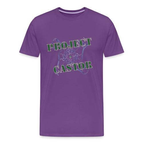 Castor Men's T - Men's Premium T-Shirt