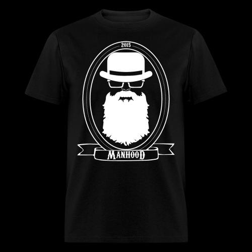Manhood OG/front white logo  - Men's T-Shirt