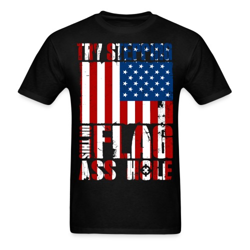 Try Stepping On This - Men's T-Shirt