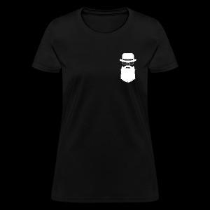 Manhood OG/back white logo  - Women's T-Shirt