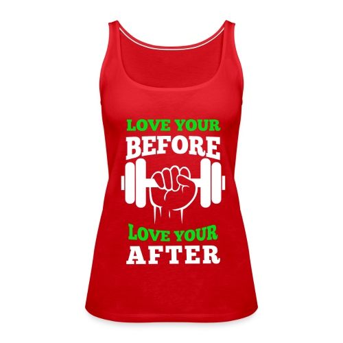Women's PFLH Love Your Workout Premium Tank - Women's Premium Tank Top