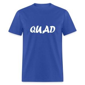 Mens Quad Shirt (Blue) - Men's T-Shirt