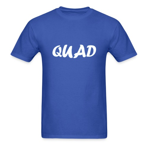 Mens Quad Shirt (Blue) - Men's T-Shirt