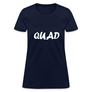 Womens Quad Shirt (Dark Blue) - Women's T-Shirt