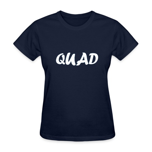 Womens Quad Shirt (Dark Blue) - Women's T-Shirt