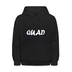 Kids Quad Hoodie! (Black) - Kids' Hoodie