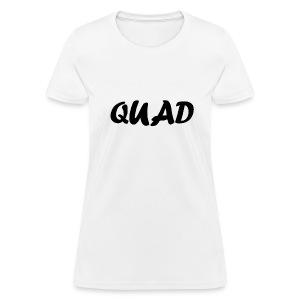 Womens Quad Shirt (White) - Women's T-Shirt