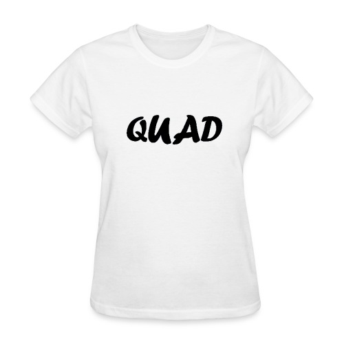 Womens Quad Shirt (White) - Women's T-Shirt
