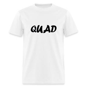 Mens Quad Shirt (White) - Men's T-Shirt