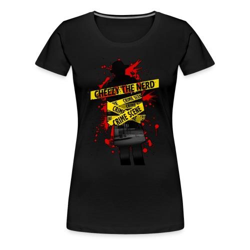 Official CheezyTheNerd T-Shirt (Female) - Women's Premium T-Shirt