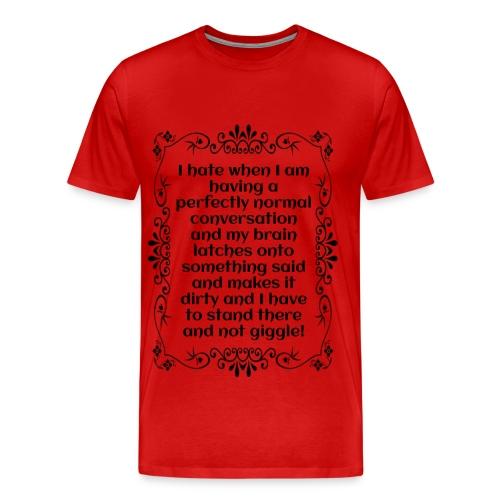 giggle. - Men's Premium T-Shirt
