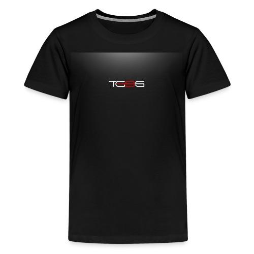 TGBG Kid's Black Rebrand Tshirt - Kids' Premium T-Shirt