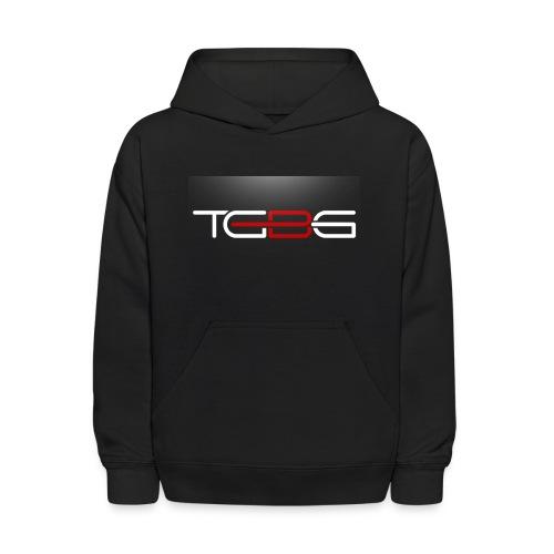TGBG Kid's Black Rebrand pullover hoodie - Kids' Hoodie
