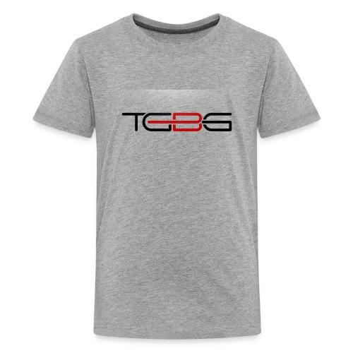 TGBG Kid's Grey Rebrand Tshirt - Kids' Premium T-Shirt