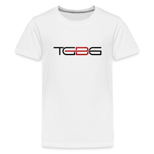 TGBG Kid's White Rebrand Tshirt - Kids' Premium T-Shirt