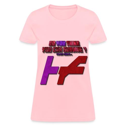 Purple Red H-F - Women's T-Shirt