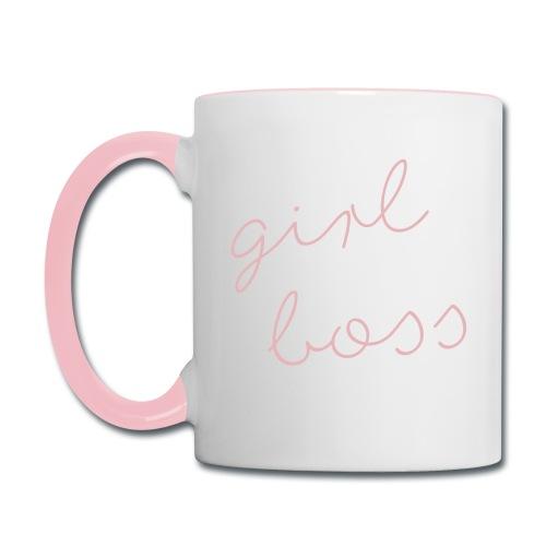 Girl Boss Mug - Contrast Coffee Mug