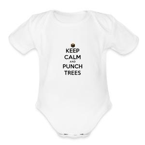 Short Sleeve Baby Bodysuit - videogame,tshirt,t-shirt,game,funny,craft,clothing